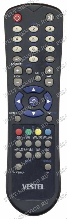 Пульт Vestel RC-47B-07C (TV) корпус Maximus
